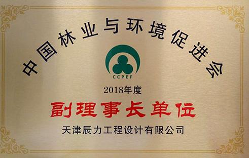 中国林业与环境促进会副理事长单位证书.jpg